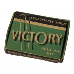 Boîte d'épingles à cheveux, Victory