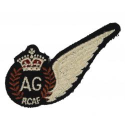 Badge, Air Gunner, Royal Canadian Air Force, RCAF