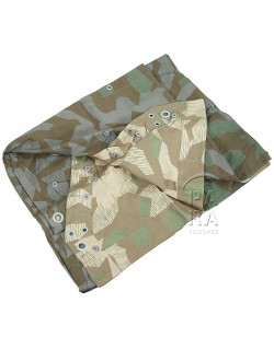 Zeltbahn, camouflaged WH Poncho