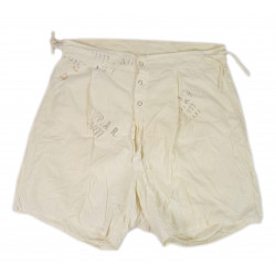 Drawers, white cotton, Shorts, Size 30