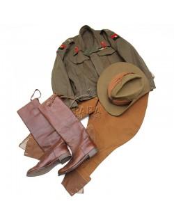 Tenue de général anglais, Armée des Indes
