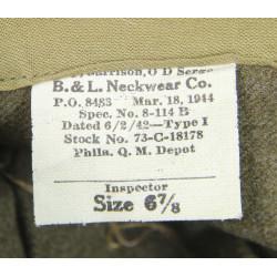 Cap, Overseas, Artillery, Size 6 7/8