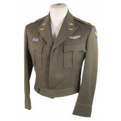Jacket, Ike, Airborne Troop Carrier, Major, Named
