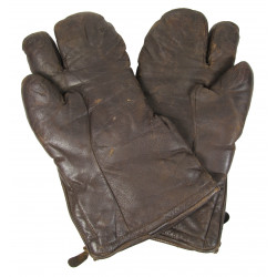 Gloves, leather, US Navy, Small