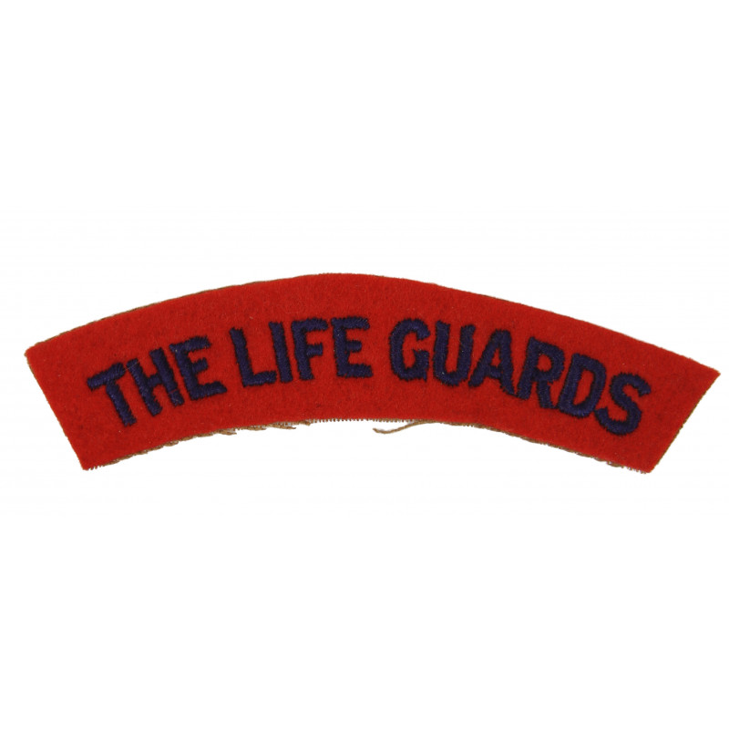 Shoulder Title, The Life Guards