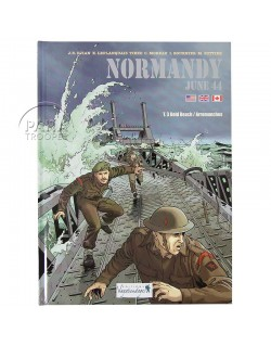 Normandie Juin 44 - Tome 3 : Gold Beach - Arromanches