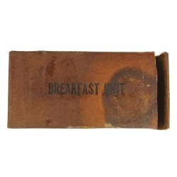 Ration K, Breakfast, 1944