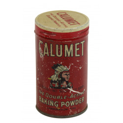 Tin, Baking Powder, Calumet
