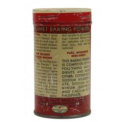 Tin, Baking Powder, Calumet