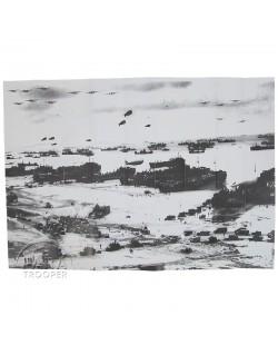 Carte JOUR J - 6 JUIN 1944 La Bataille de Normandie