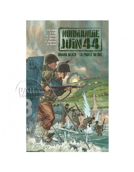 Normandy June 44 - Tome 1 : Omaha Beach - La pointe du Hoc