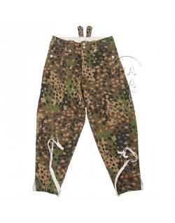 Trousers, Camouflaged, Dot pattern