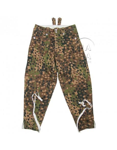 Pantalon camouflé petit pois