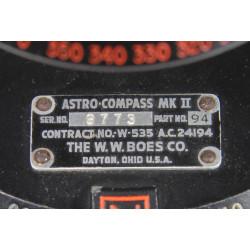 Boussole, Astro-Compass MK II, RAF - USAAF