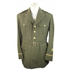 Jacket, Service, Officer's, OD, 42L, British Made, 1943
