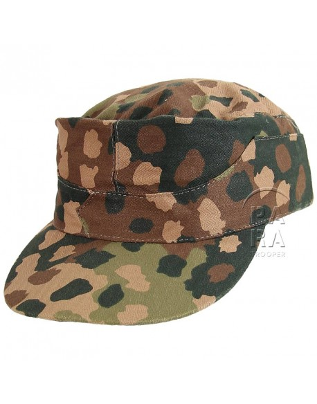 Cap, M-1943, Camouflaged, dot pattern