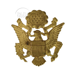 Insigne de casquette officier US