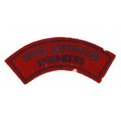 Title, Royal Australian Engineers