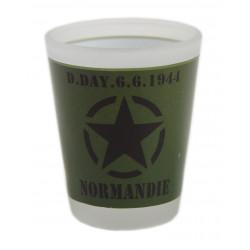 Verre à liqueur D-Day 6.6.1944, kaki