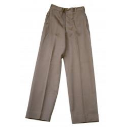 Pantalon pink officier, taille 32, identifié