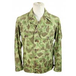 Jacket, HBT, Experimental, Camouflaged, US Army