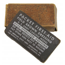 Packet First-Aid, Field Brown Dressing, Carlisle Model