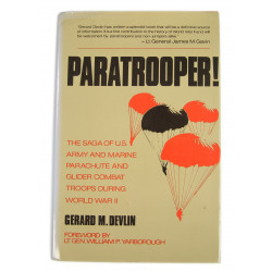 Book - Paratrooper! The Saga of US Army and Marine Parachute and Glider Combat Troops During World War II