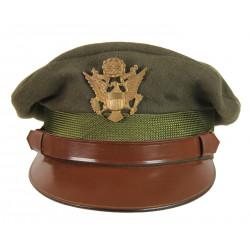 Casquette officier US, Chocolat, Regulation Army Officer, 1942