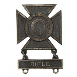 Badge, Sharpshooter, Rifle, Sterling