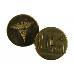 Discs, Collar, Medical & US, Enlisted men