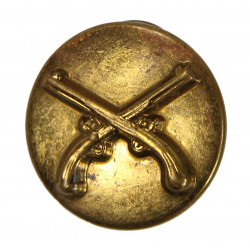 Disk, Collar, Military Police, stamped