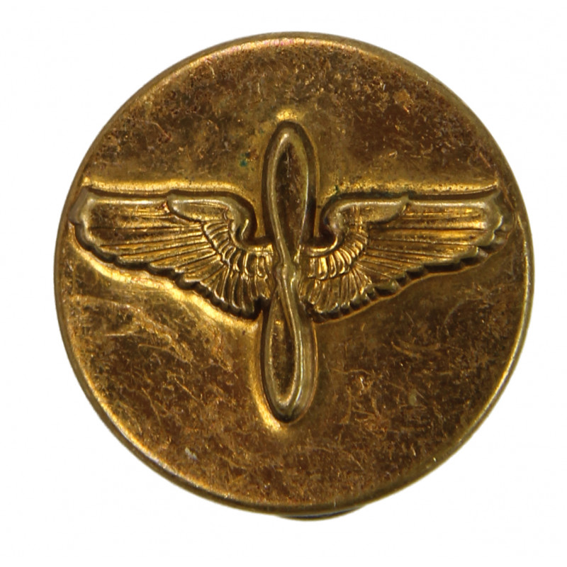 Disk, Collar, Air Corps / Air Forces, embossed
