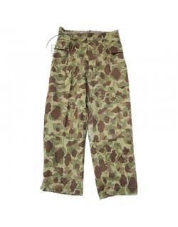 Uniform, Jacket & pants, HBT, Camouflaged, US Army