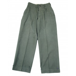 Trousers, Field, M-1943, Size 28