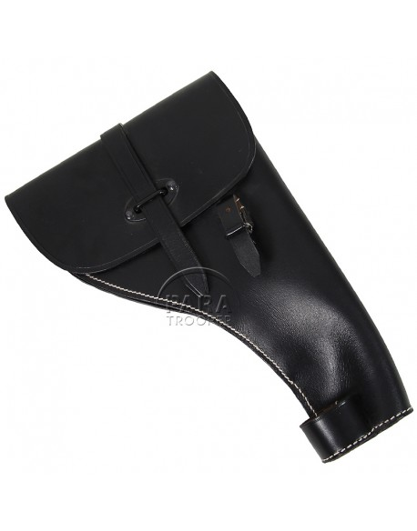 Holster, Leather, Pistol, Flare, German
