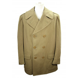 Overcoat, Short, Officer's, 44L, 1942, Named