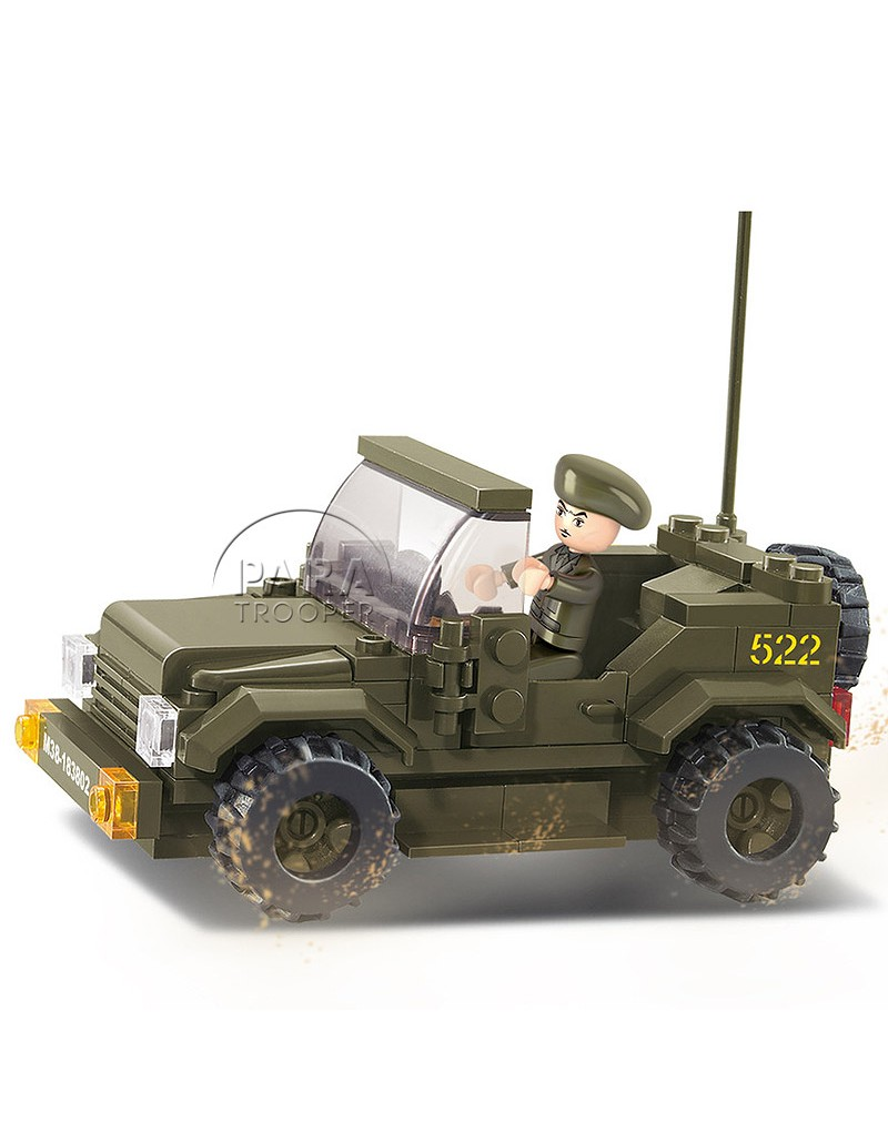 jeep willys lego paratrooper. Black Bedroom Furniture Sets. Home Design Ideas