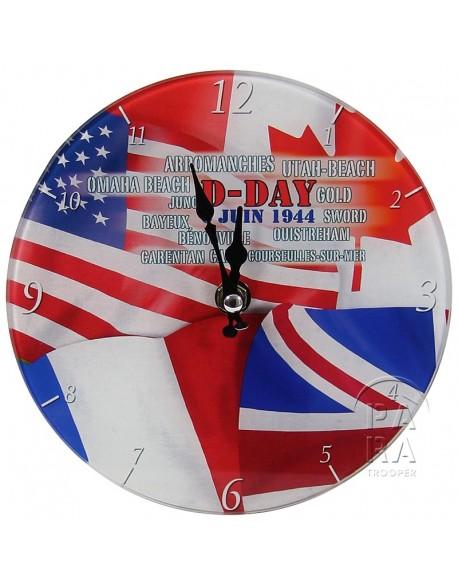 Horloge D-Day 6 juin 1944