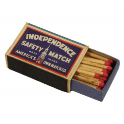 Matches, INDEPENDENCE SAFETY MATCH, 1943