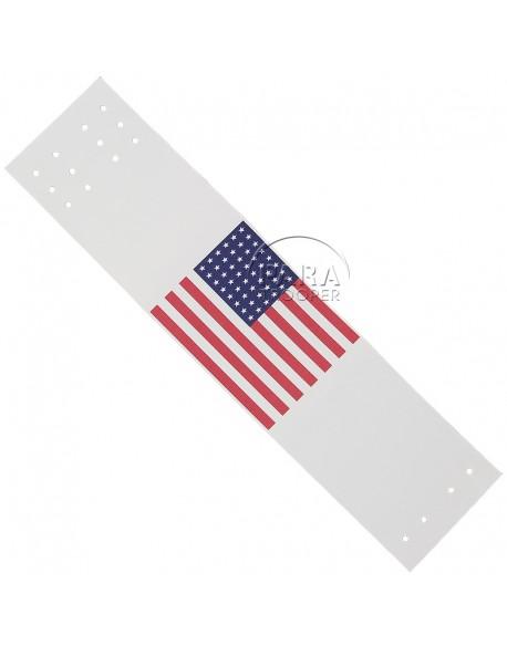 Armband (brassard) identification flag