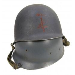 Helmet, M1, liner Westinghouse, US Navy, Radarman
