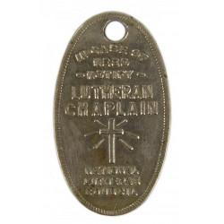 Médaillon religieux, National Lutheran Council, dog tags