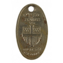 Religious Pendant, National Lutheran Council, Dog Tags