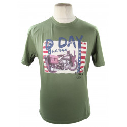 T-shirt, D-Day Harley