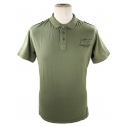 Polo shirt, Khaki, D.DAY 6TH JUNE 44, OPERATION OVERLORD NORMANDY