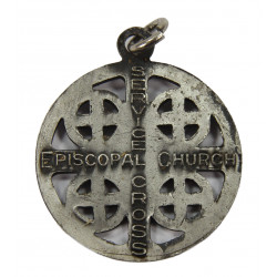 Médaillon religieux, Episcopal Church, dog tags