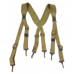 Belt suspenders M-1936, taped, 1942