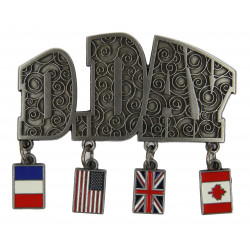 Magnet, D-Day, Allied Flags