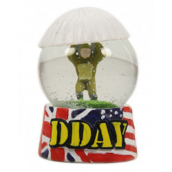Boule à neige, D-Day, parachutiste