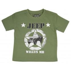 T-shirt, Jeep, Kids